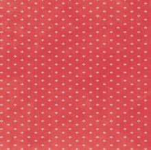 Devotion - Mini Print Red 1/2 Metre Length
