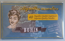 Bohin Needles - 40 Pack Light Blue