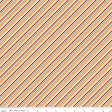 WISTFUL STRIPE MULTI 1/2 Metre Length