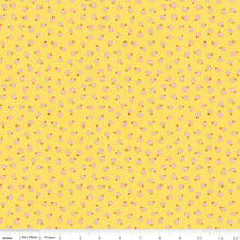 TOY DAISY YELLOW 1/2 Metre Length
