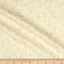 Lustre Metallic - Tiles Natural 1/2 Metre Length