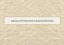 Batting 80/20 - 80% Cotton 20% Polyester mix