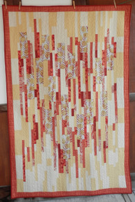 "Marks 'Sticks' Quilt Kitset 73 1/2"" x 48"" designer Valori Wells- comes with a book with other projects"