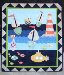 "In the Channel  Quilt Kitset (41"" x 47"")"