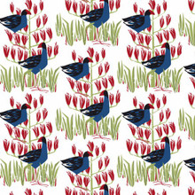 PUKEKO PATCH     1/2 metre length