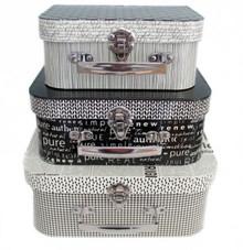 Authentic decorative case set  x3 by Moda  -