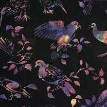 NZ BIRDS BALI - MIDNIGHT 1/2 Metre Length