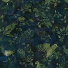 NZ BIRDS BALI -FOREST 1/2 Metre Length
