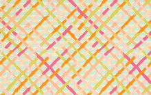 Mad Plaid Pastel   1/2 Metre Length