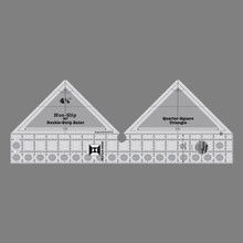 90° Double Strip Ruler