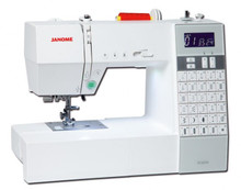 Janome DC6030 to 31st October 2018