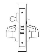 PDQ MR149 Grade 1 Single Cylinder Assisted Living Mortise Locks FE