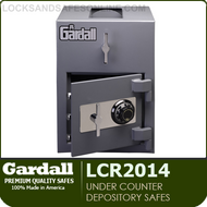 Commercial Light Duty Depository Safes | Burglary Rated Under Counter Depository Safes | Gardall LCR2014