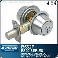 Schlage B562P Deadbolt - Double Cylinder