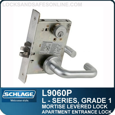 Apartment Entrance Lock Schlage L9060p Lv9060p S