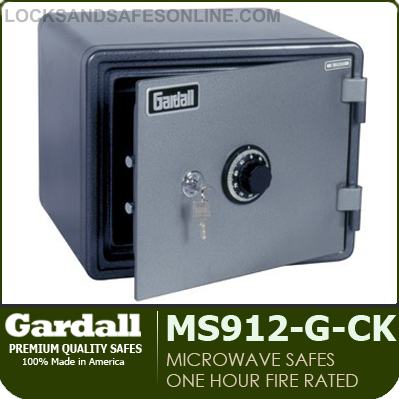 1 Hour Microwave Fire Safes | Gardall MS912-G / MS129-G Series