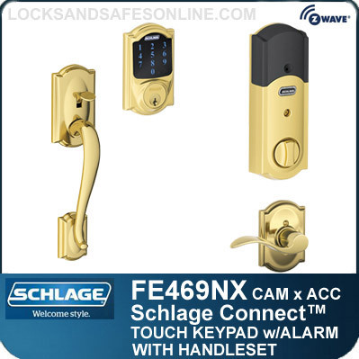 Schlage Fe469nx Cam Acc Camelot Style Schlage Connect