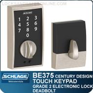 Schlage BE375-CEN - Century Style Schlage Touch Keypad Electronic Deadbolt