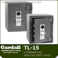 Commercial High Security Safes | Gardall TL15 Series