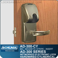 Schlage AD-300-CY-MG (Magnetic Stripe - Insert) Electronic Locks