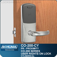 Standalone Proximity Locks | Schlage CO-200-Cylindrical