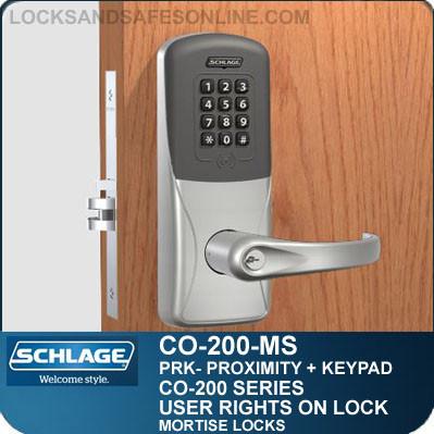 Standalone Proximity Keypad Locksschlage Co 200 Mortise