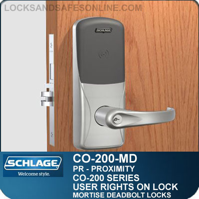 Standalone Proximity Locks Schlage Co200 Mortise Deadbolt