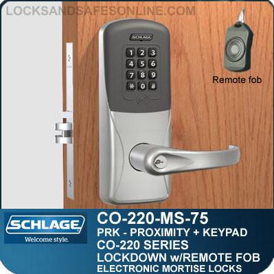 Mortise Proximity Keypad Locks Schlage Co 220 Ms 75 Prk
