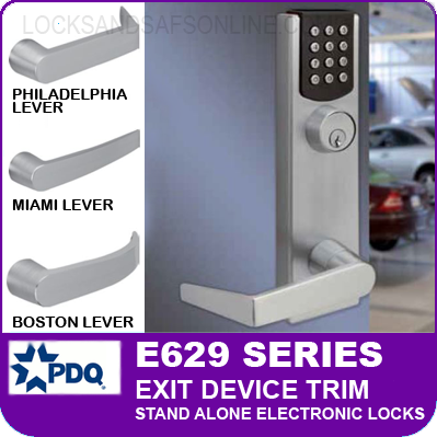 Pdq E629 Series Grade 1 Exit Device Trim