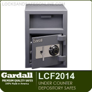 Commercial Light Duty Depository Safes | Burglary Rated Under Counter Depository Safes | Gardall LCF2014