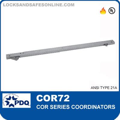 Door Coordinators | PDQ COR72  sc 1 st  Locks and Safes Online.com & The COR72 Series Door Coordinators from PDQ.