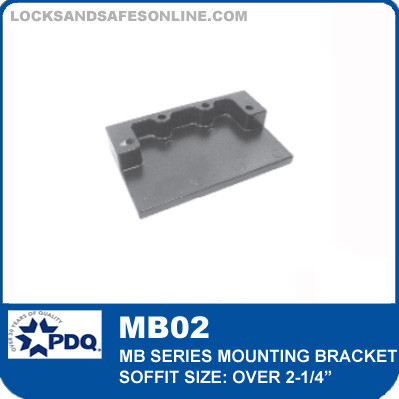 """Mounting Bracket - Soffit over 2-1/4"""" (Included as pair) 