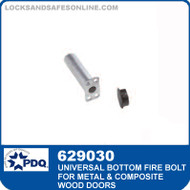 Universal Bottom Fire Bolt for Metal and Composite Wood Doors | PDQ 629030