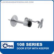 PDQ 108 Series Door Stop with Keeper
