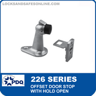 PDQ 226 Series Offset Door Stop with Hold Open