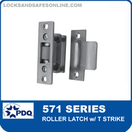 PDQ 571 Series Roller Latch with T Strike