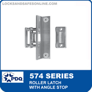 PDQ 574 Series Roller Latch with Angle Stop