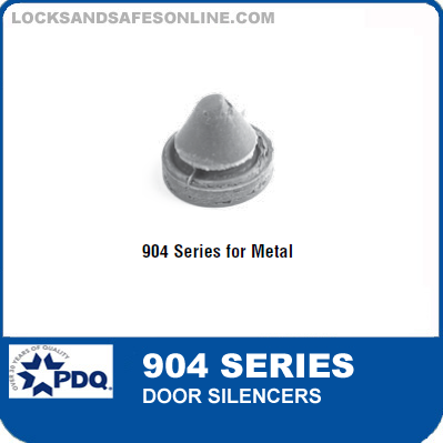 PDQ 904 Series Metal Door Silencer  sc 1 st  Locks and Safes Online.com & PDQ 904 Series Metal Door Silencer (Qty per Box: 100)