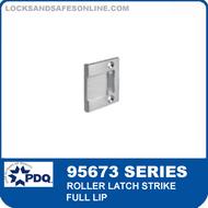 PDQ 95673 Series Roller Latch Strike - Full Lip