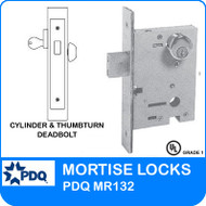Cylinder and Thumbturn Deadbolts | PDQ MR132