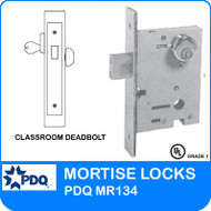 Classroom Deadbolts Mortise Locks | PDQ MR134