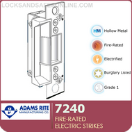 Fire-rated Electric Strikes | Adams Rite 7240, 7240-9