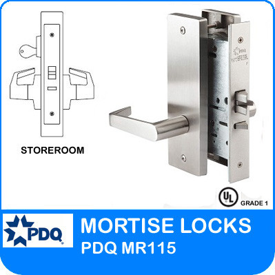 Single Cylinder Storeroom Mortise Locks Pdq Mr115 Je