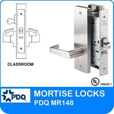 Single Cylinder Classroom Mortise Locks Pdq Mr148 Je