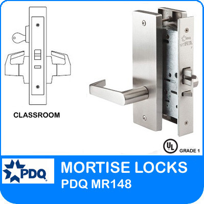 Single Cylinder Classroom Locks Mortise Pdq Mr148 Jw