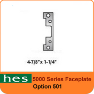 HES 501 Option - 5000 Series Faceplate