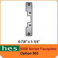 HES 503 Option - 5000 Series Faceplate