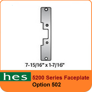 HES 5200 Series Faceplate - 502 Option