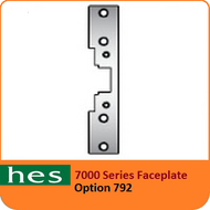 HES 792 Option - 7000 Series Faceplate