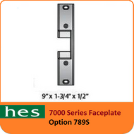HES 789S Option - 7000 Series Faceplate